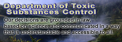 California Department of Toxic Substance and Control